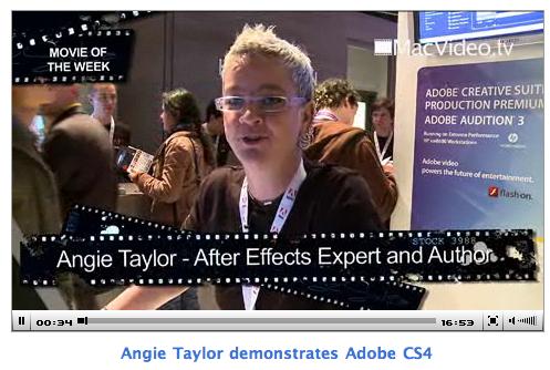 Angie Taylor IBC 2008