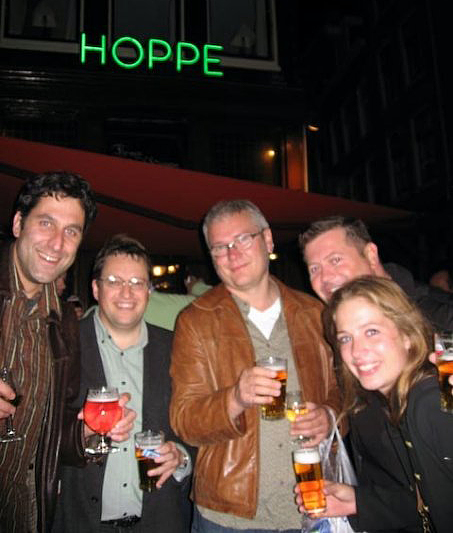 The rest of the GridIron Gang at IBC 2009