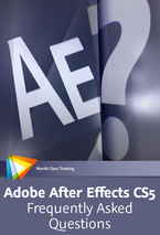 Adobe After Effects Training DVD and book
