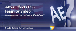 After Effects CS5 Learn by Video