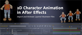 2D character animation in After Effects