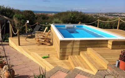 Angie's Pool Decking Design wins gold!