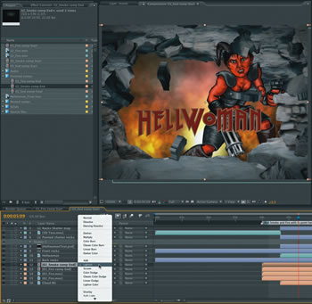 3D Fire in After Effects