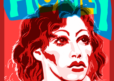 Portrait of Holly Woodlawn