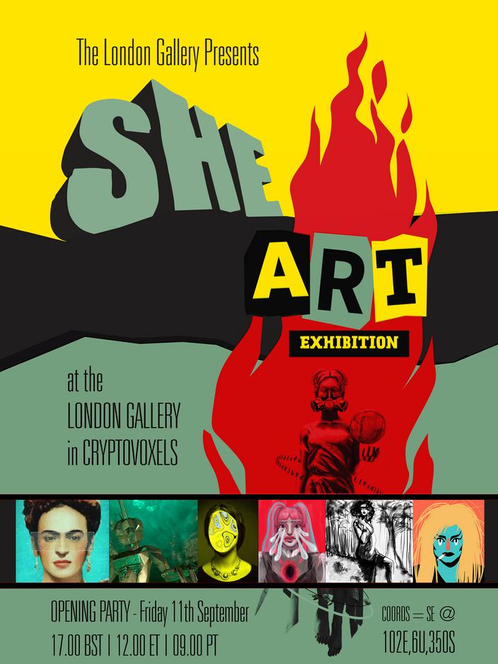 She Art Poster