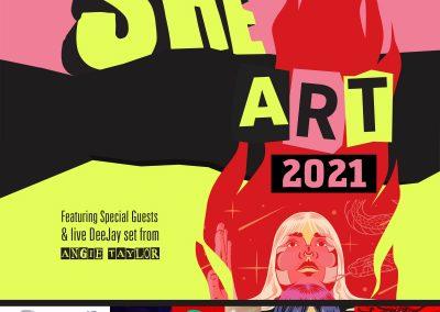 She Art 2021 Poster